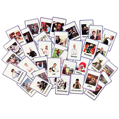 Kids Occupation - Educational Live Picture Cards of Occupations