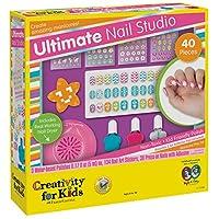 Juego de juego de manicura Creativity for Kids Ultimate Nail Studio