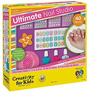 Creativity for Kids Ultimate Nail Studio Manicure Play Set