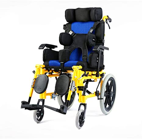 Amazon.com: Lightweight Folding Adult Wheelchair Driving Medical Multi-Functional Fully Lying Flat Reclining Wheelchair Car Adult Wheelchair Cerebral Palsy: ...