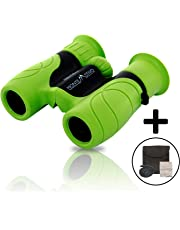 Monte Stivo® Junior | Kinder-Fernglas 8X21 | Klein leicht & kompakt - perfekte Begleiter für alle Entdecker & Abenteurer