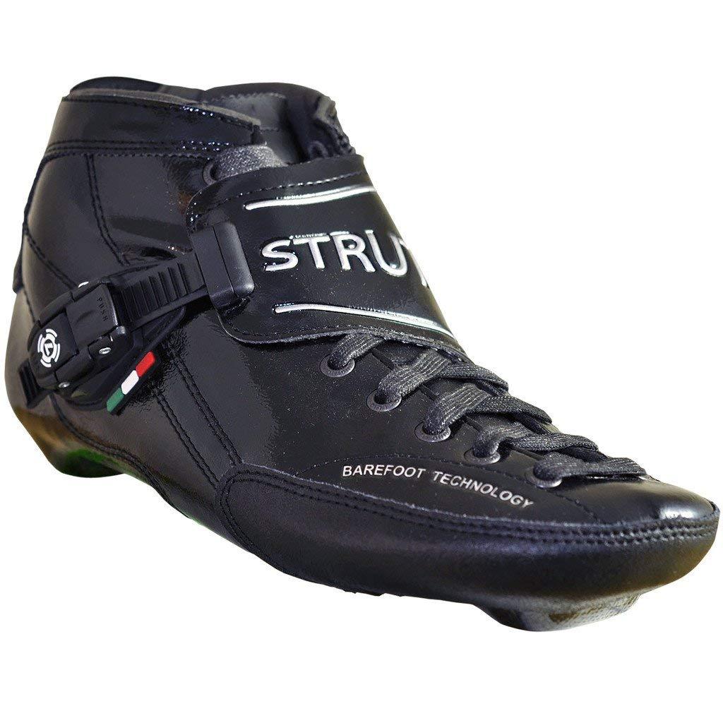 Atom Luigino ストラット インライン スケートブーツ ブラック