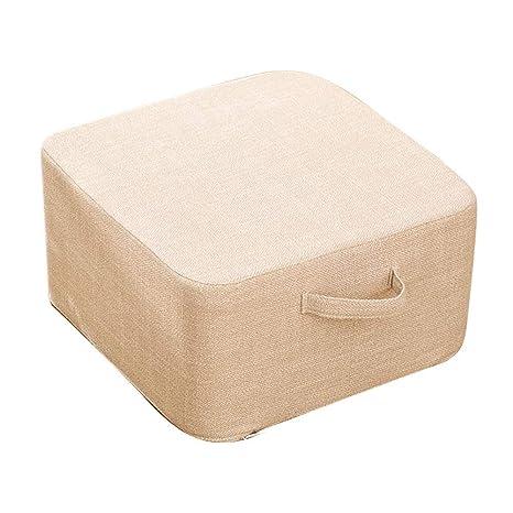 Amazon.com: Cojín cuadrado Tatami, para el hogar, la cama ...