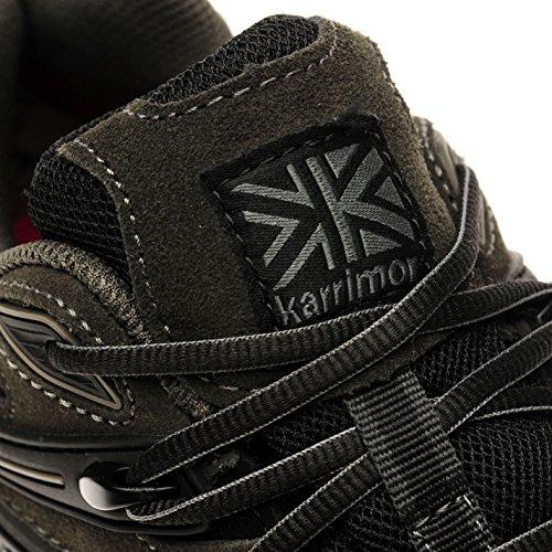 Hommes Wtx Chaussures Ridge De Karrimor Marche 42 Charcoal 4CHqT
