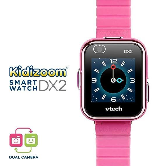 Amazon.es: VTech Kidizoom Smart Watch DX2 - Reloj inteligente para niños con doble cámara, color rosa (193857)