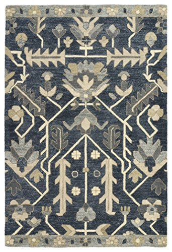 Kaleen Rugs Brooklyn Collection 5307-10 Blue 7'6