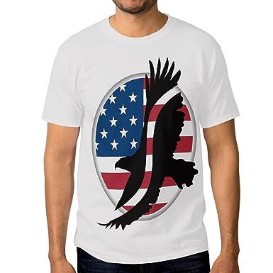 Amazon.com: Para hombre bandera americana EAGLE vestido ...