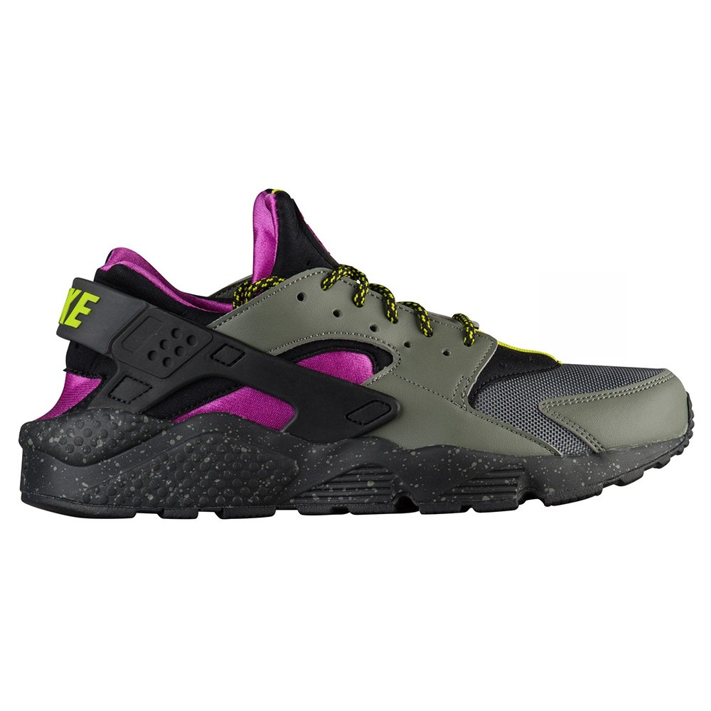 NIKE Air Huarache Run Su Mens Ah9710-002 B07C2LP9SV 10 D(M) US|River Rock/Bright Cactus-black