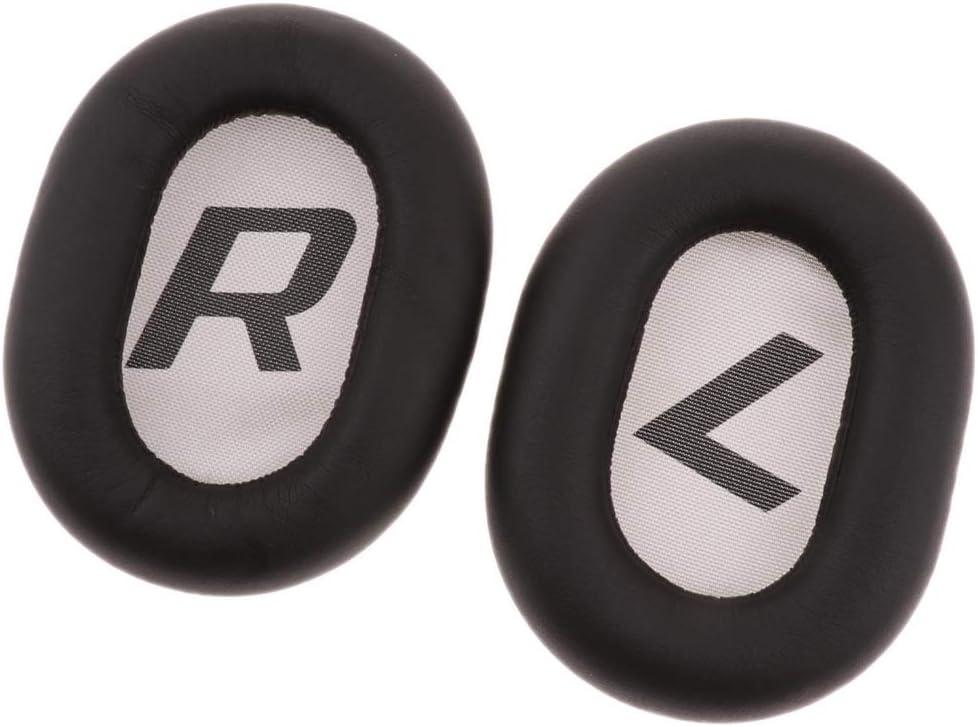 F Fityle Reemplazos de Almohadillas EarPad Coj/ín de Oreja para Auriculares Backbeat Pro 2 marr/ón