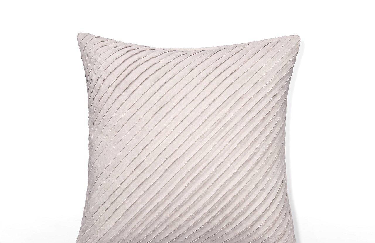Calvin Klein Home 2510035-SU-S1-D2 Nocturnal Blossoms Cut Lines Pillow, 18'' x Pillow
