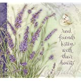LANG 1033066 Recipe Card Album, Lavender
