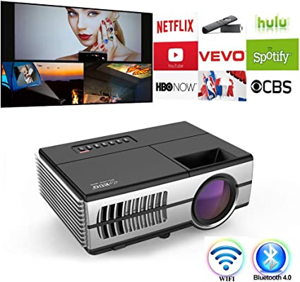Amazon.com: Home Cinema Proyector Full HD 1080P Película ...