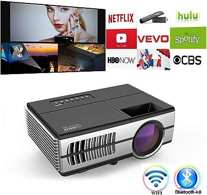 Amazon.com: Home Cinema Proyector Full HD 1080P Película ...