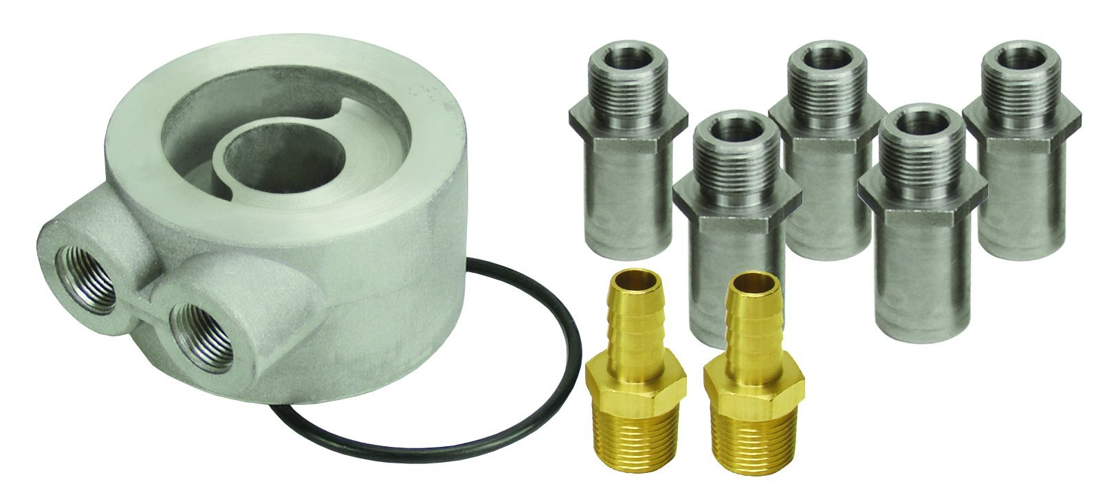 Derale 15735 Non-Thermostatic Sandwich Adapter Kit by Derale