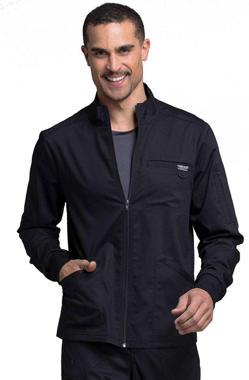 Workwear Revolution Men Scrubs Jacket Zip Front WW320