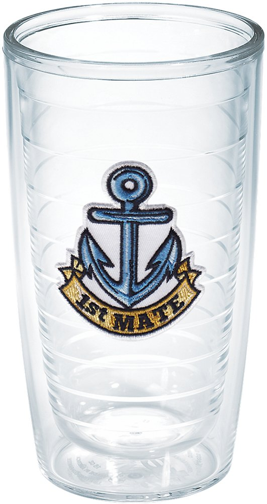 Tervis 1st Mate Anchor Emblem Bottle On The Water 1167467 16-Ounce