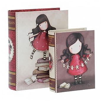 """Set Cajas de cartón decoradas Diseños Gorjuss - """"New Height"""" y """""""