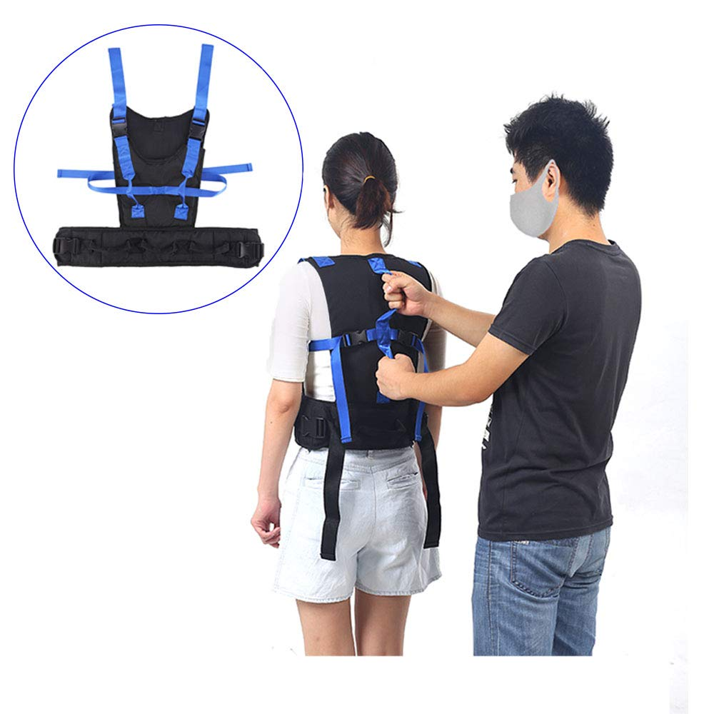 Gait Belts Transfer Boards Harness with Handles Physical Therapy Belt for Seniors Elderly Assistance Products Walking Safety Patient Parkinson's, Pediatric Lifting Belt by H&S Health