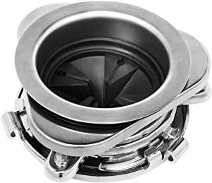 Garbage Disposal Flange Kit, Stainless Steel 3-Bolt Mount Sink Flange Kit with Splash Guard for Insinkerator Disposals