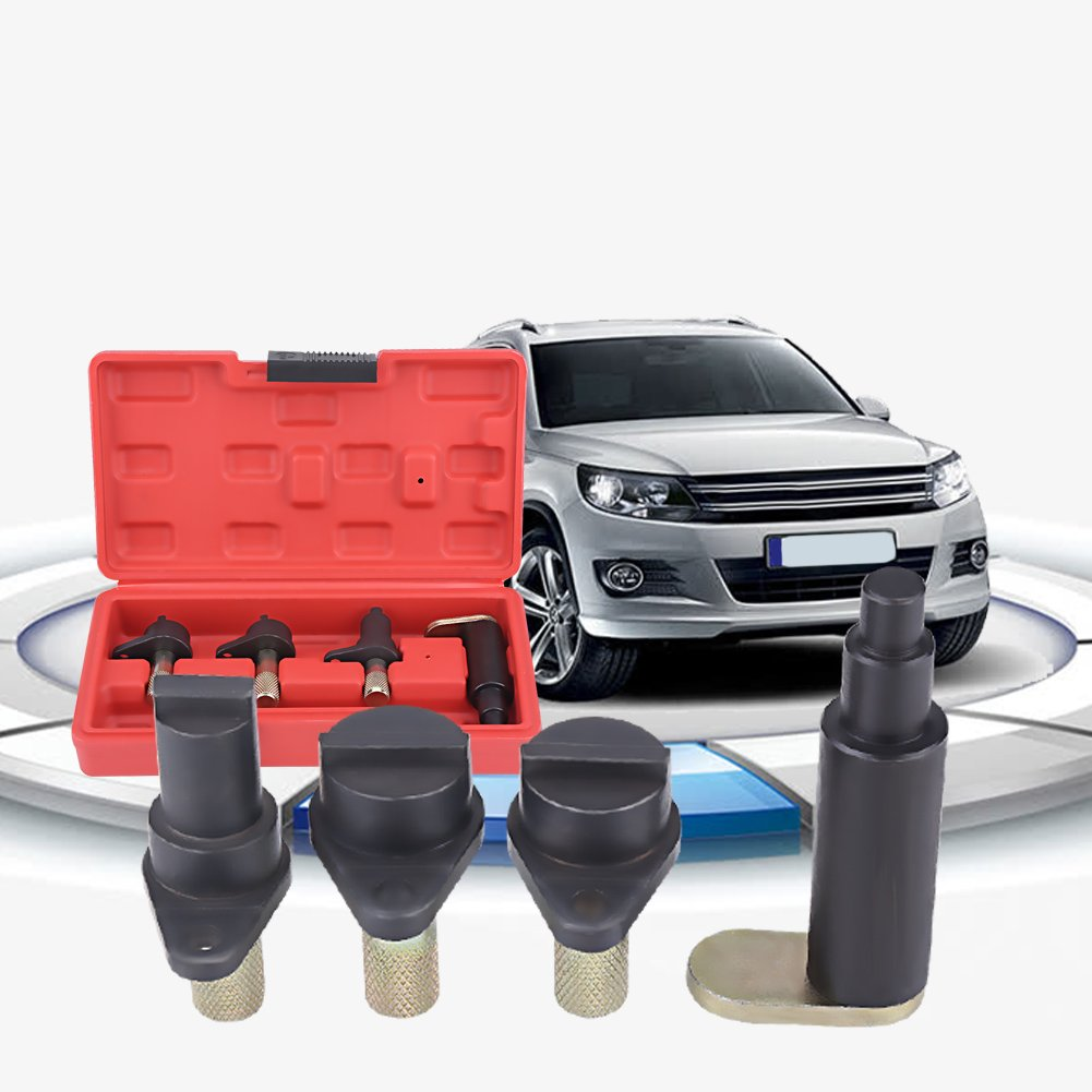 Engine Timing Tool, 4Pcs Car Engine Timing Locking Setting Tool Kit Timing Lock Tool for VW Polo Fox Seat Ibiza 1.2 6V 12V