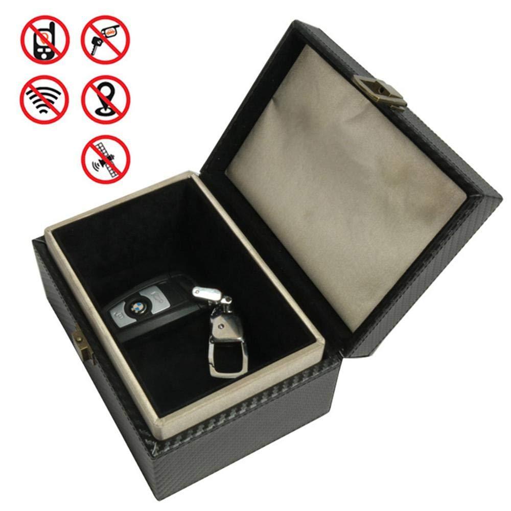 Volwco Faraday Box Anti Theft Faraday Box Cage RFID Faraday Key Fob Protector Blocker Keyless Car Signal Blocker Safe Security Blocking Box for Smart Keys Cards House Indoor
