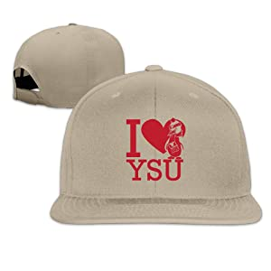 ElishaJ Adjustable Youngstown State University Baseball Cap Hat Natural