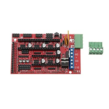 HU ZHANG Impresora 3D Placa del módulo, Arduino Mega 2560 + ...