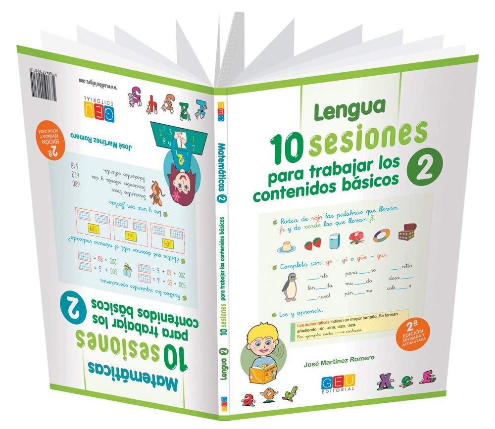 lengua y matematicas 2 10 sesiones trabajar los contenidos basicos (Spanish) Paperback – January 1, 1900