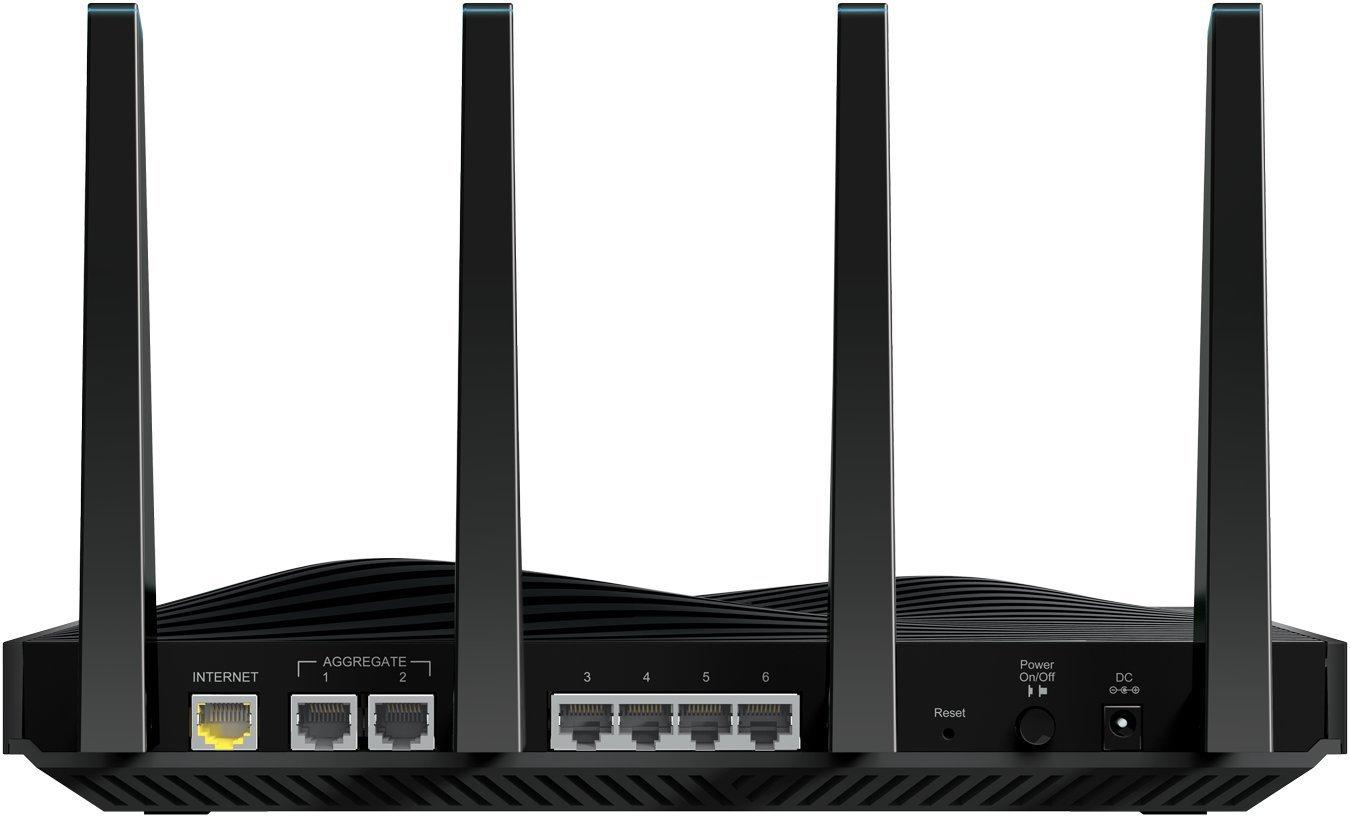 NETGEAR Nighthawk X8 AC5000 Tri-band WiFi Router, Gigabih Ethernet,  MU-MIMO, Compatible with Amazon Echo/Alexa (R8300)