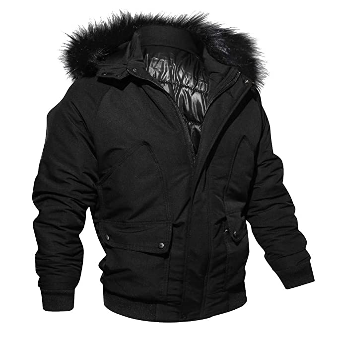 Amazon.com: Mens Thicken Jacket Outwear, Corriee Casual Warm Solid Hooded Parka Coats Fall Winter Long Sleeve Zipper Tops: Clothing
