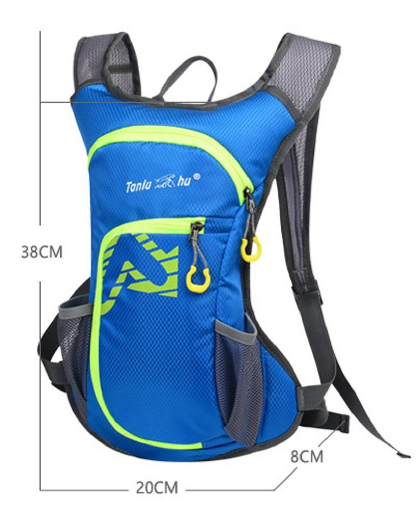 TANLUHU Cycling Backpack Bike Shoulder Bag Lightweight Outdoor Sports Riding Backpack Hydration Compatible for Hiking Running Cycling