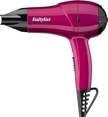 BaByliss Nano doble voltaje secador de pelo rosa 1200 W – 5282 AU