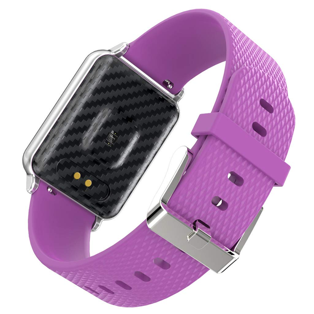 WELCOMEUNI Smart Watch for Android iOS Sports Fitness Calorie Wristband Wear Smart Watch Fitness Tracker