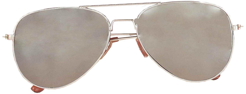 Forum Novelties Mirrored Police Glasses Costume Accessory, Silver, One Size Forum Novelties Costumes 60395 FOR-60395