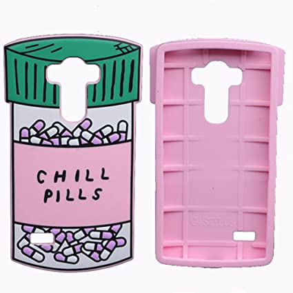 Amazoncom Lg Stylus Casels770 Chill Pills Casejjq Lovely 3d Soft