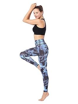 L.T.J Pantalones de Yoga Control de la Barriga Mallas ...