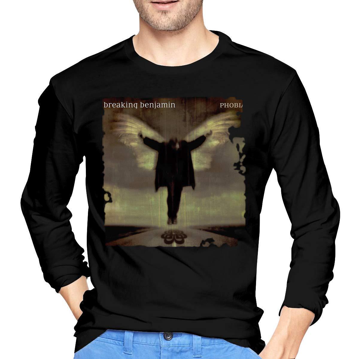 Fssatung S Breaking Benjamin Phobia T Shirts Black