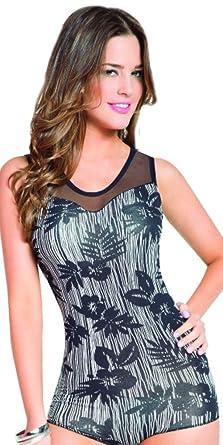 Aranza Blusa Faja Colombiana de Mujer - Bodysuit Body Shaper Blouse Womens Body Suit High Compression