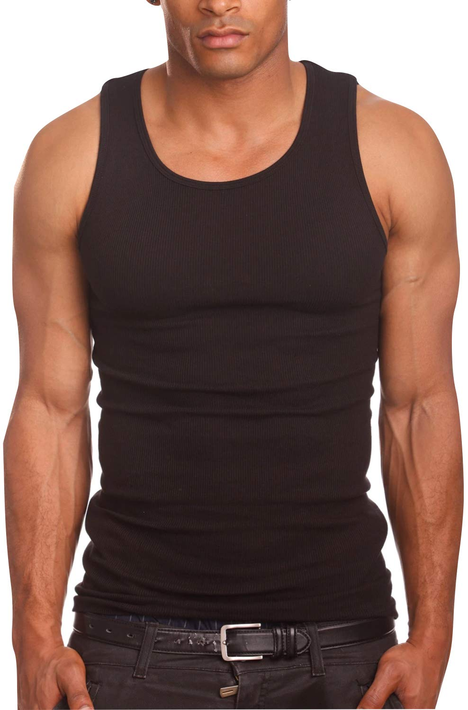 ToBeInStyle Men's A-Shirt Tank Top Muscle Shirt