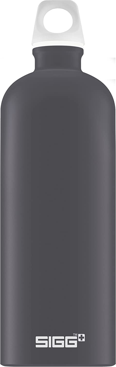 SIGG Lucid Shade Touch, Water Bottle, aluminium, BPA Free, Black - 34oz 61XwvHjxeZL