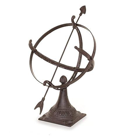 Antikas - Reloj de Sol decoración jardín - Reloj de Sol Antiguo de 50x60 - Reloj