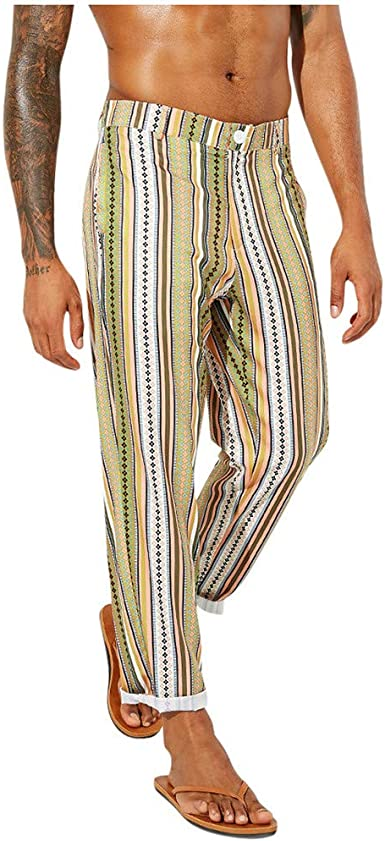Pantalones para Hombre, Pantalones Comodo Moda Pop Casuales ...