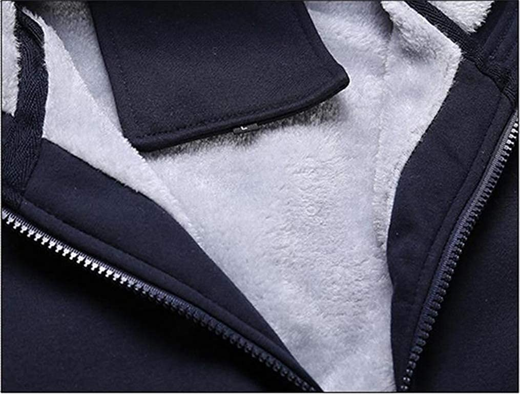 Gumstyle Hetalia Axis Powers Anime Unisex Full-Zip Hoodie Coat Winter Thicken Fleece Warm