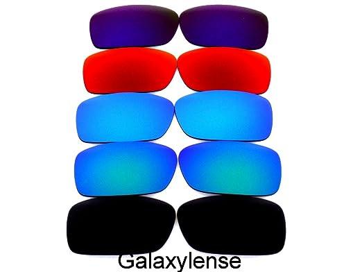 973e5f4f4f Galaxy Replacement Lenses For Oakley Crankcase Polarized  Black Blue Green Red Purple 5PS