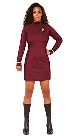Rubieu0027s Womenu0027s Star Trek Beyond Uhura Costume As Shown ...  sc 1 st  Amazon.com : star trek costume dress  - Germanpascual.Com