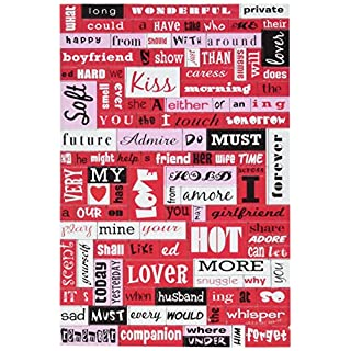 Kole SB101 Valentine's Day Poetry Conversation Magnets, Regular