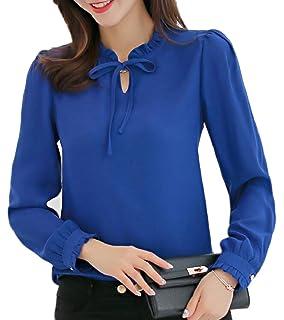 a92d092aa49c98 Jmwss QD Women s Beaded Long-Sleeve Blouse Tops Off The Shoulder ...