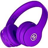 Mokata Volume Limited 85dB Kids Headphone Bluetooth Wireless Over Ear Foldable Stereo Sound Noise Protection Headset…