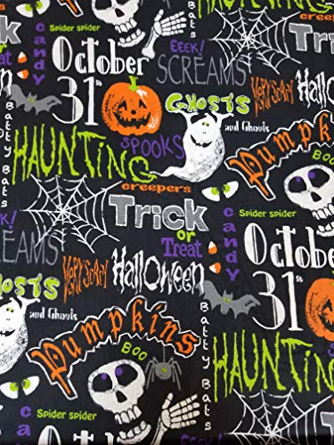 Halloween Ghost Pumpkin Black 16