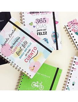 Casterli - Colección Positive - Agenda Escolar 2019-2020, Día Página, Tamaño A5 (Dreams)